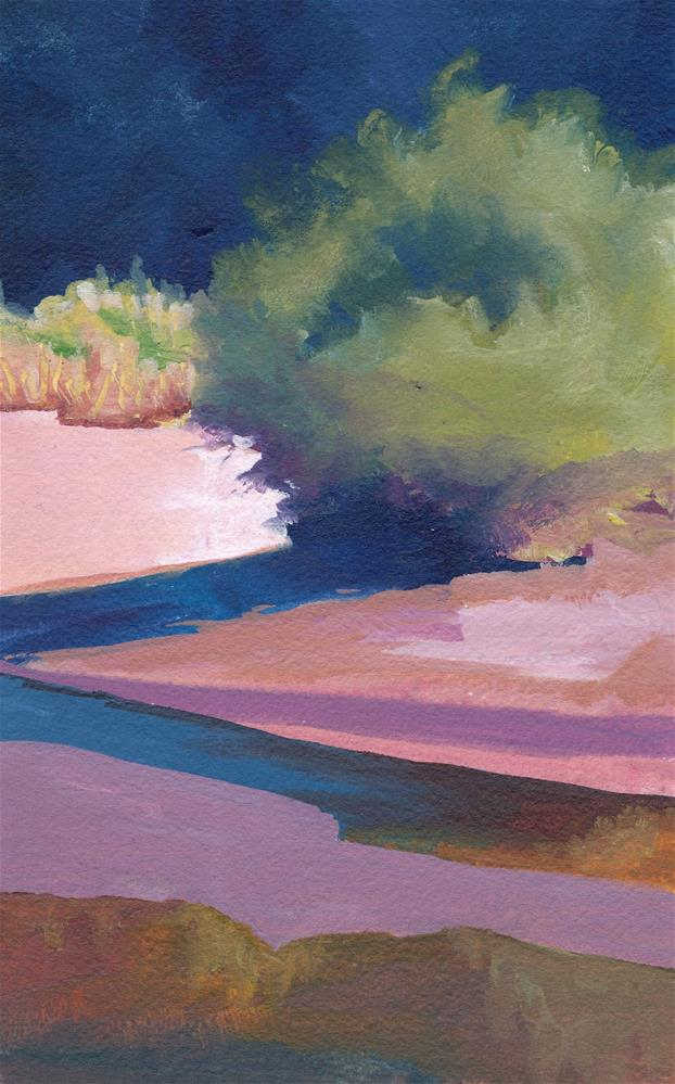 """Sandy River Shadows"" original fine art by Mark Allison"