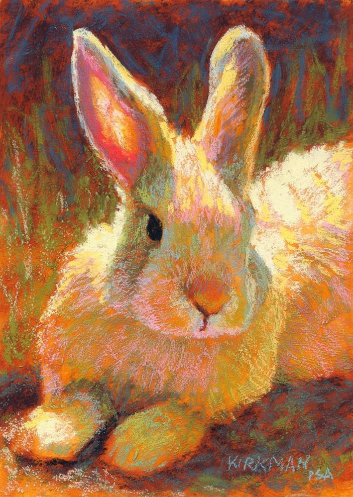 """""""Butter Bun"""" original fine art by Rita Kirkman"""
