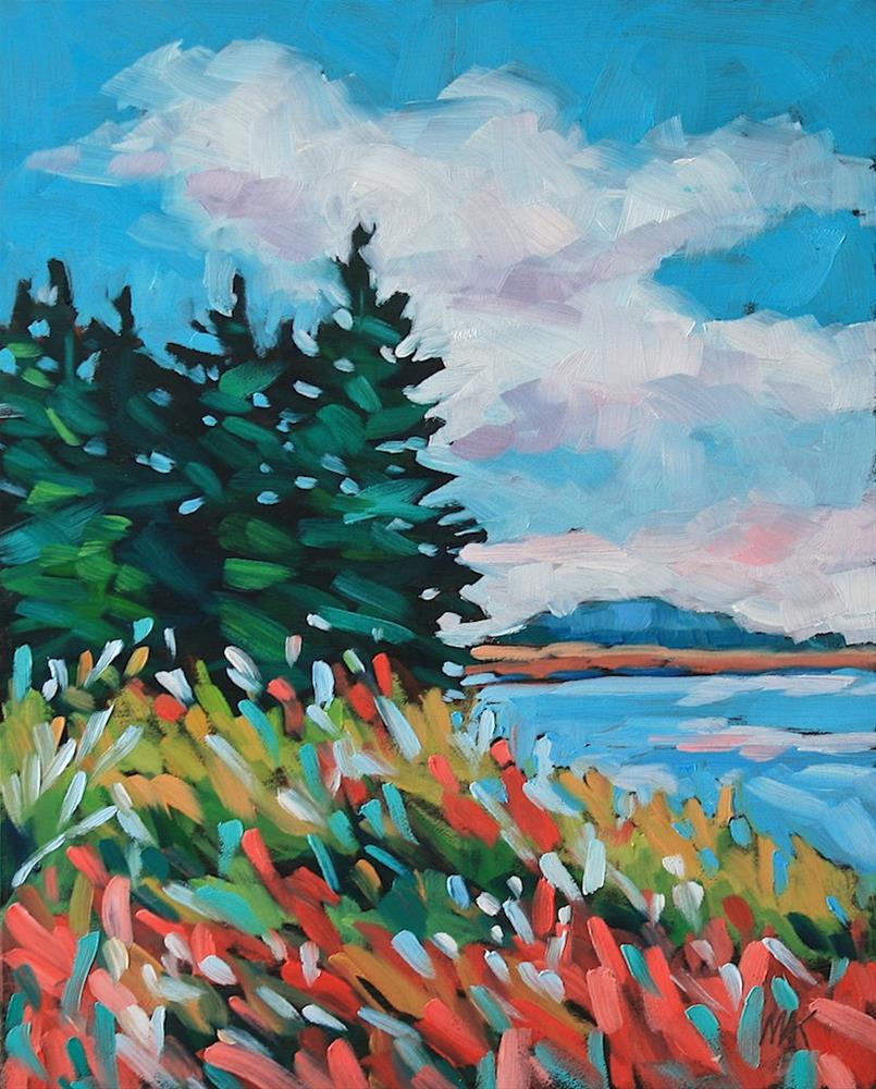 """""""Island Colors"""" original fine art by Mary Anne Cary"""