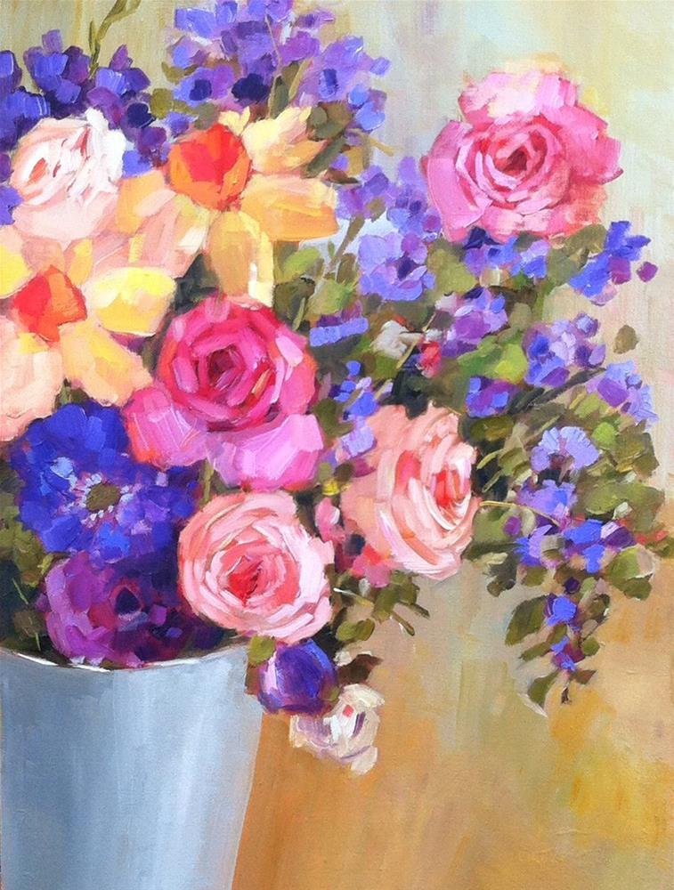 """""""Full Color"""" original fine art by Libby Anderson"""