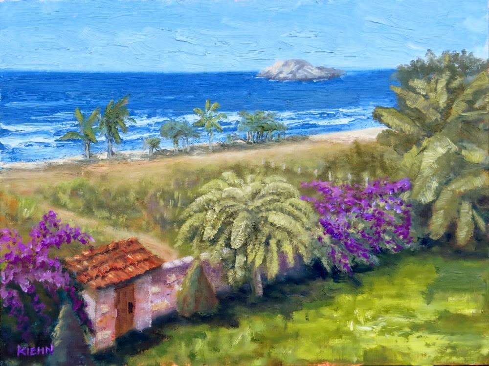 """la Puerta al Pasado"" original fine art by Richard Kiehn"