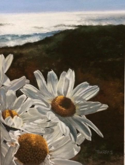 """Blissful Day"" original fine art by Christina Karras"