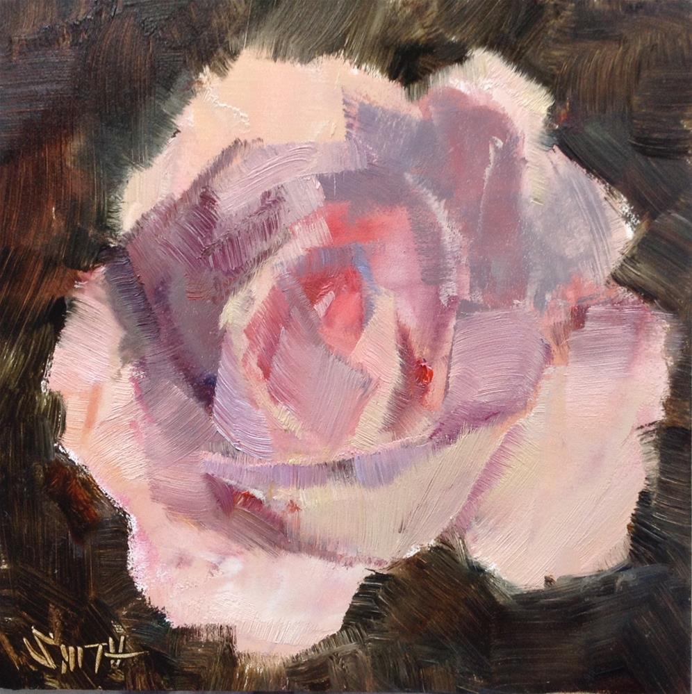 """First Bloom"" original fine art by Barbie Smith"
