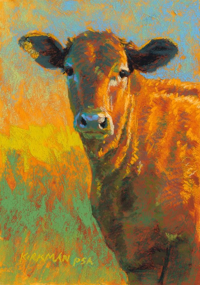 """""""Chuck"""" original fine art by Rita Kirkman"""
