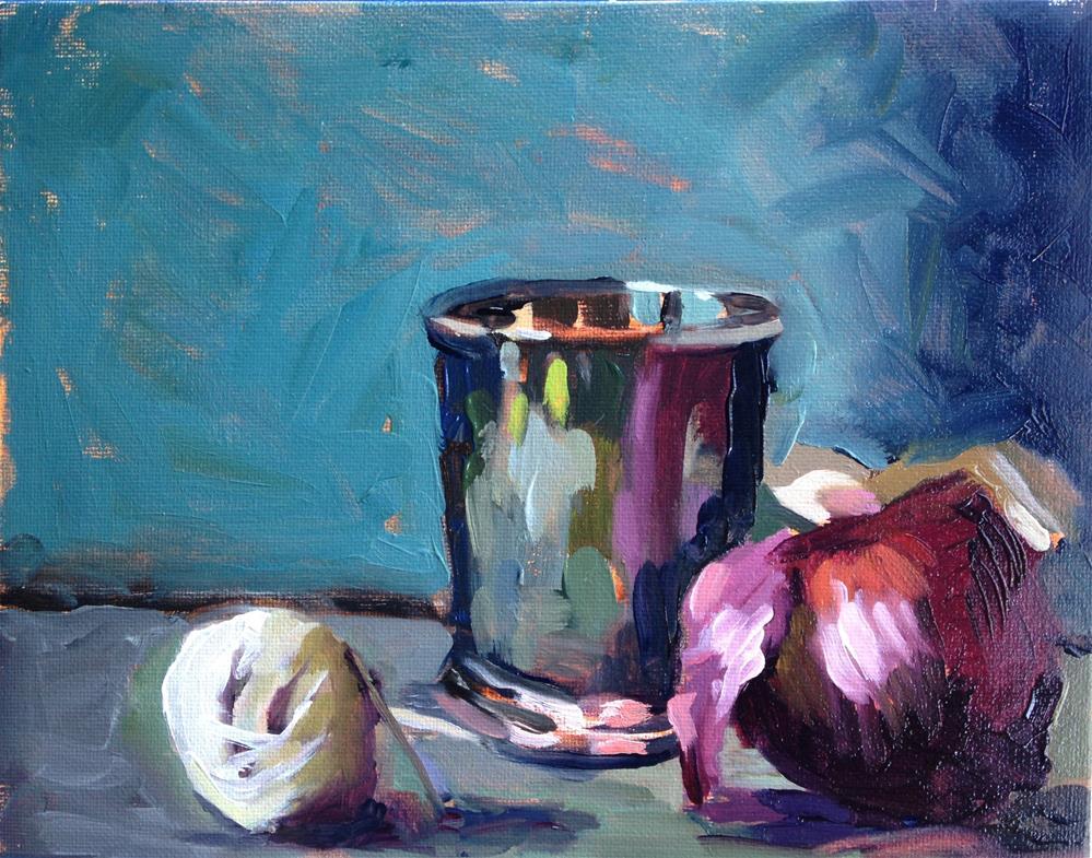 """Unlikely Companions"" original fine art by Pamela Hoffmeister"