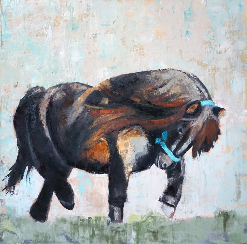 """Petite Passage"" original fine art by Catherine Van Berg"