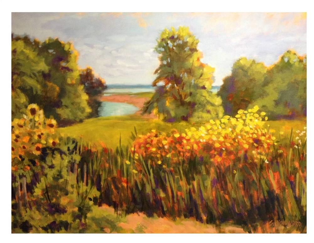 """""""One Day Last Fall"""" original fine art by Suzanne Woodward"""