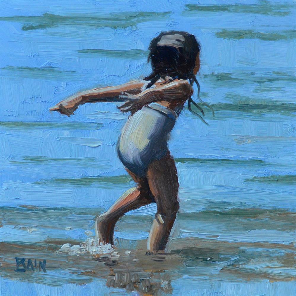 """Joy"" original fine art by Peter Bain"