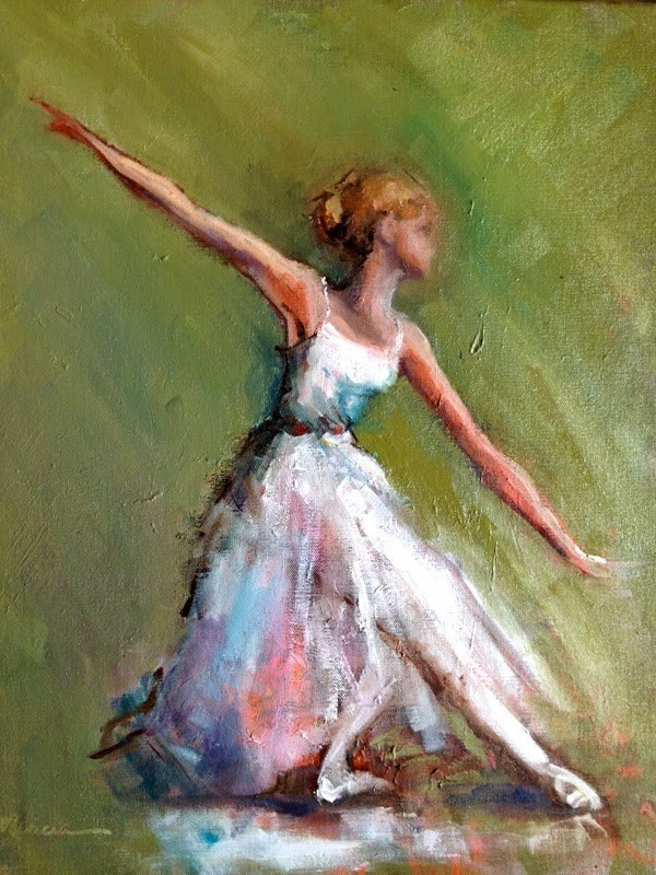 """""""Lost in the Dance"""" original fine art by Marcia Hodges"""