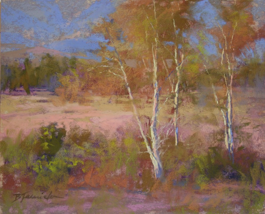 """Los Carneros Park"" original fine art by Barbara Jaenicke"