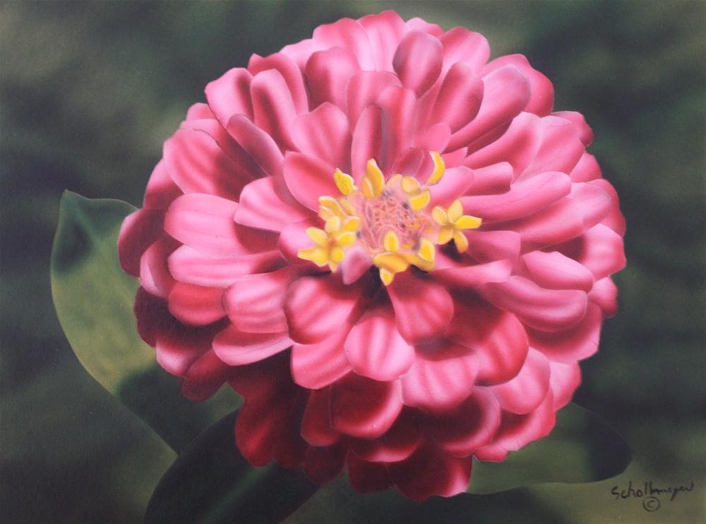 """""""Summer Flowering"""" original fine art by Fred Schollmeyer"""