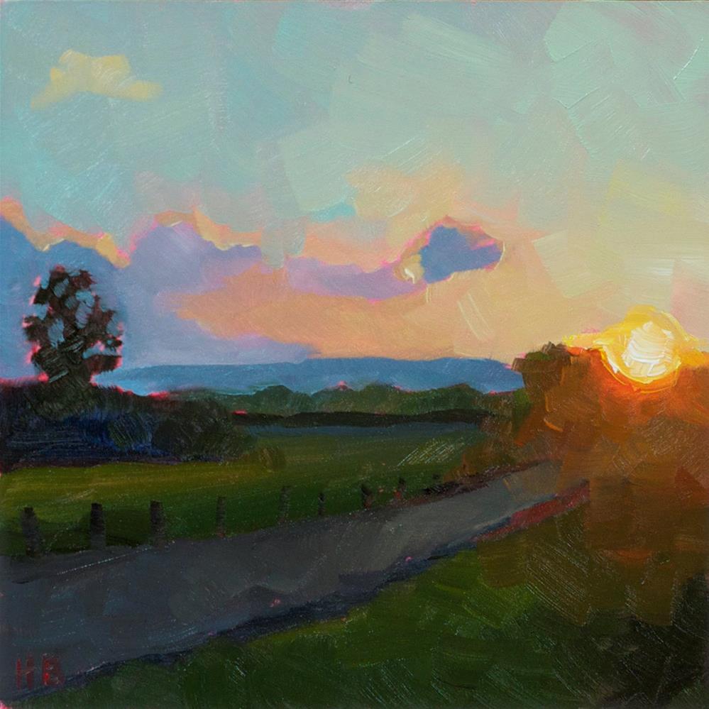 """Backroads"" original fine art by Heather Bullach"