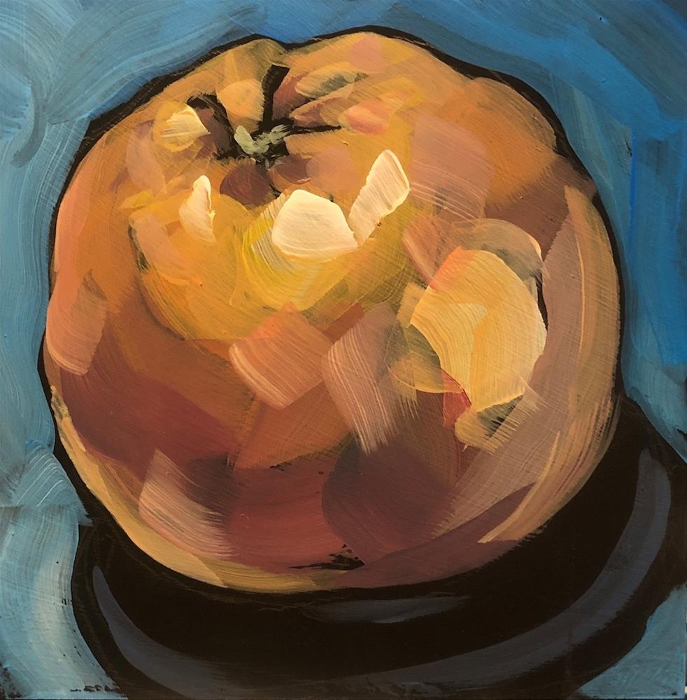 """Thursday Grapefruit"" original fine art by Kat Corrigan"