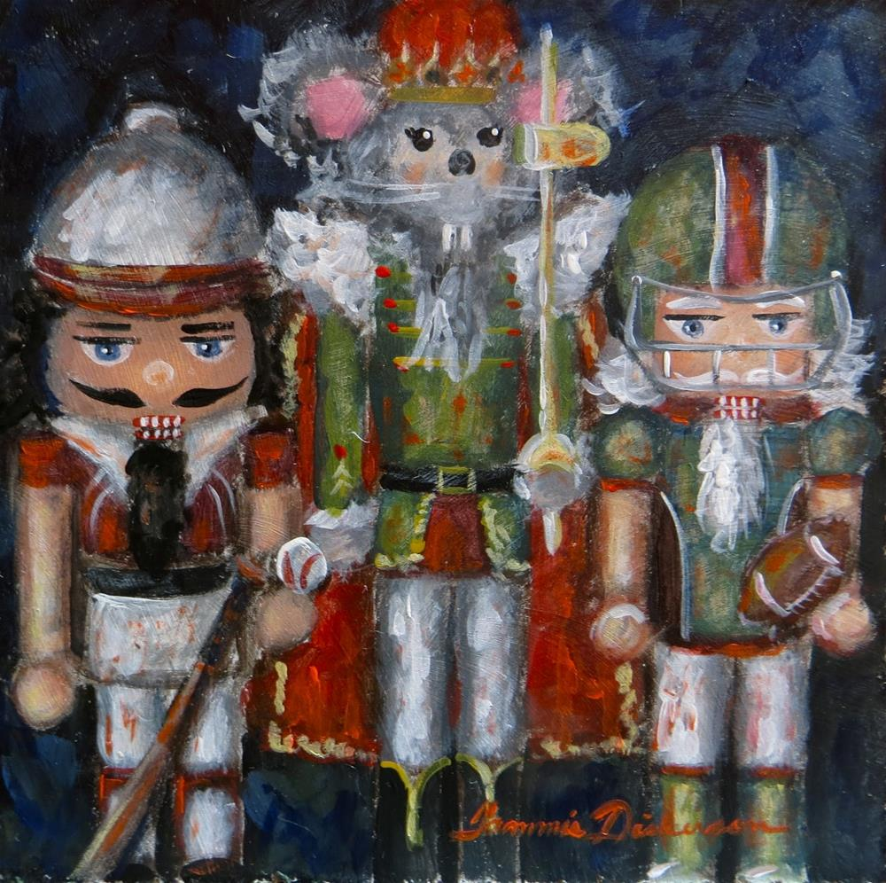 """""""Mouse King and the Boys"""" original fine art by Tammie Dickerson"""