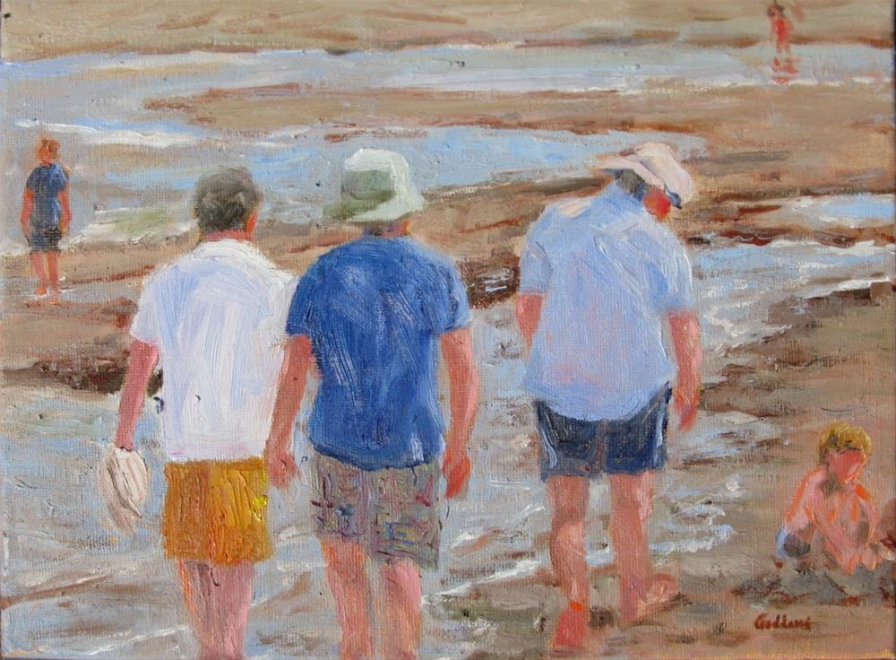 """Summer Stroll"" original fine art by Shari Goddard Shambaugh"