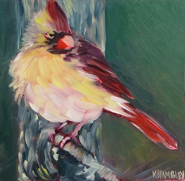 """Strike A Pose"" original fine art by Katherine Hambley"