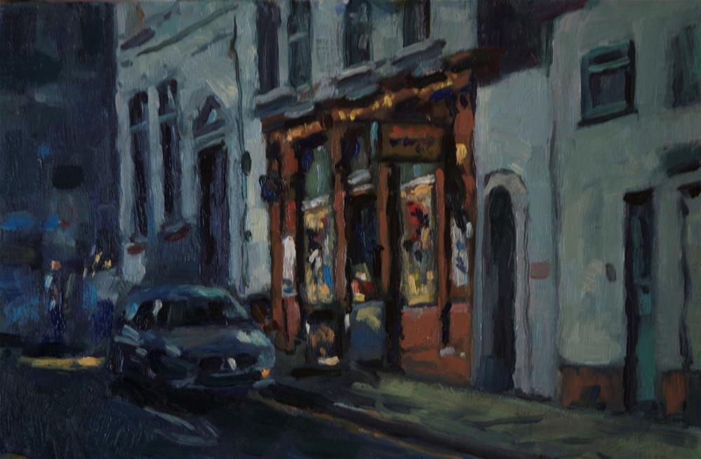 """'Shop'"" original fine art by Andre Pallat"