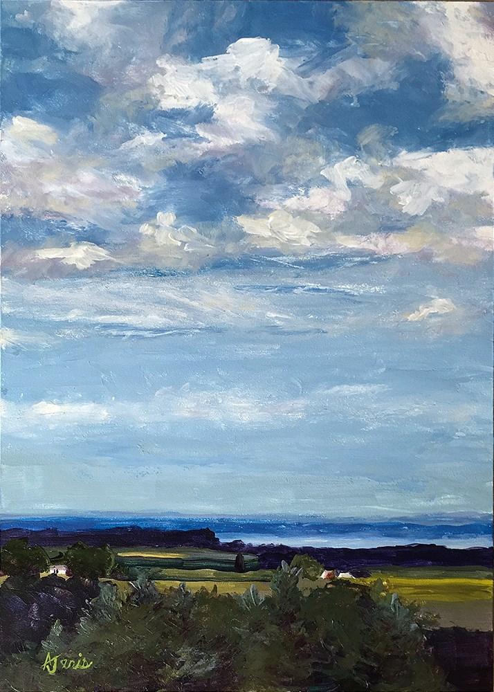"""""""Cumulus"""" original fine art by Andrea Jeris"""