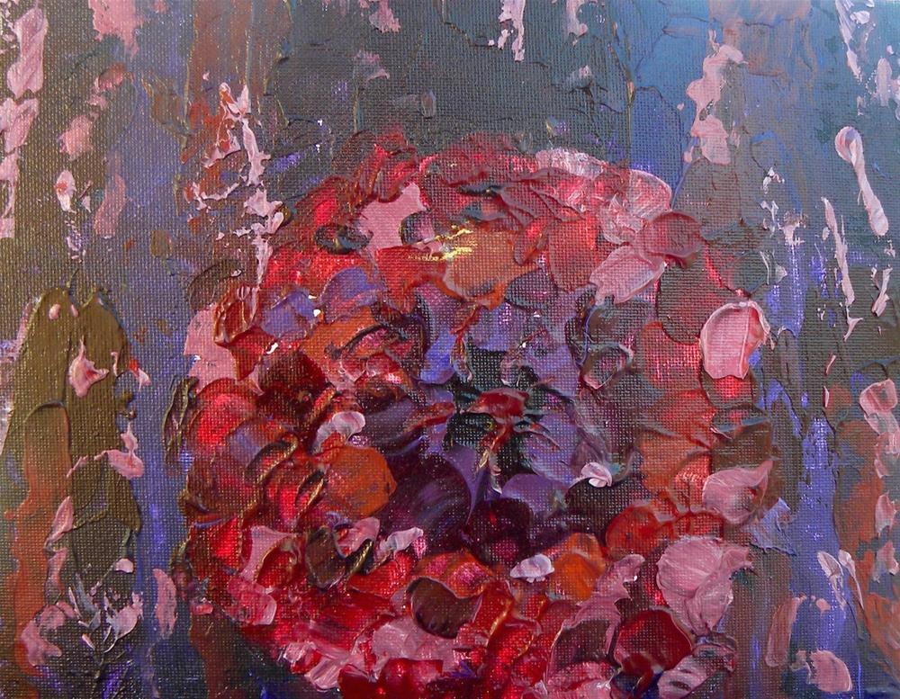 """Purple Rain"" original fine art by cheryl buhrman"