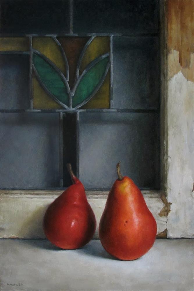 """The Red Pair"" original fine art by Michael Naples"