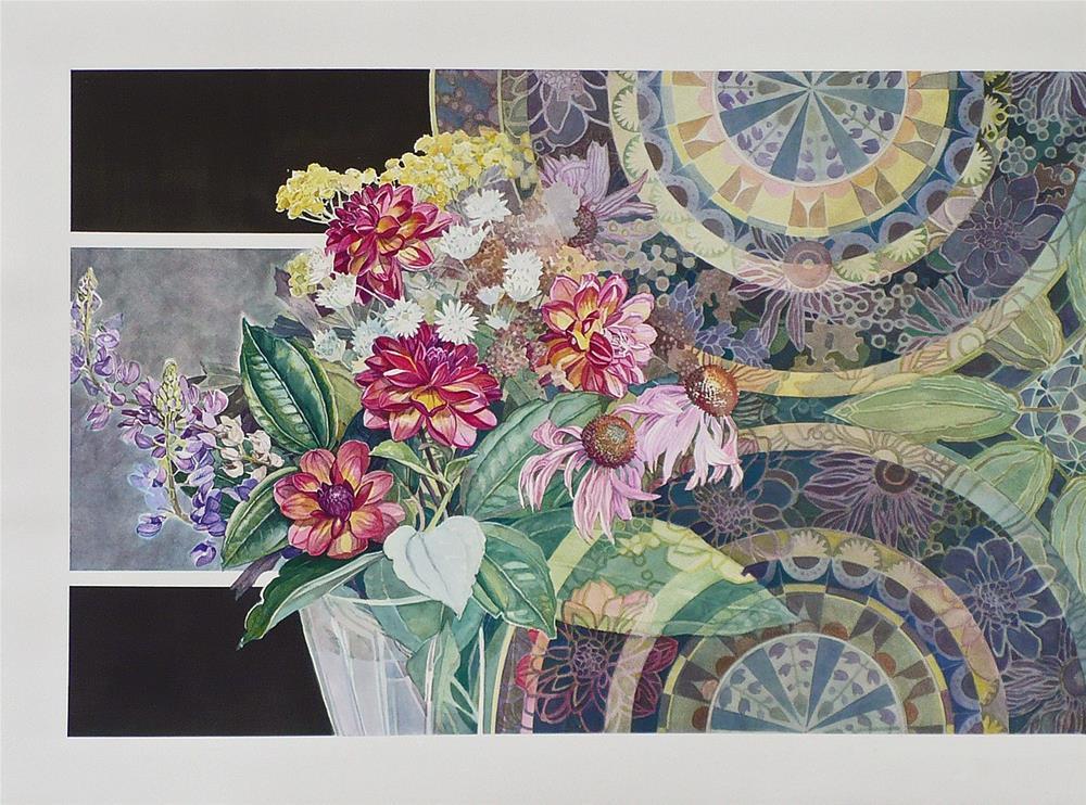 """Nature and Man"" original fine art by Nicoletta Baumeister"