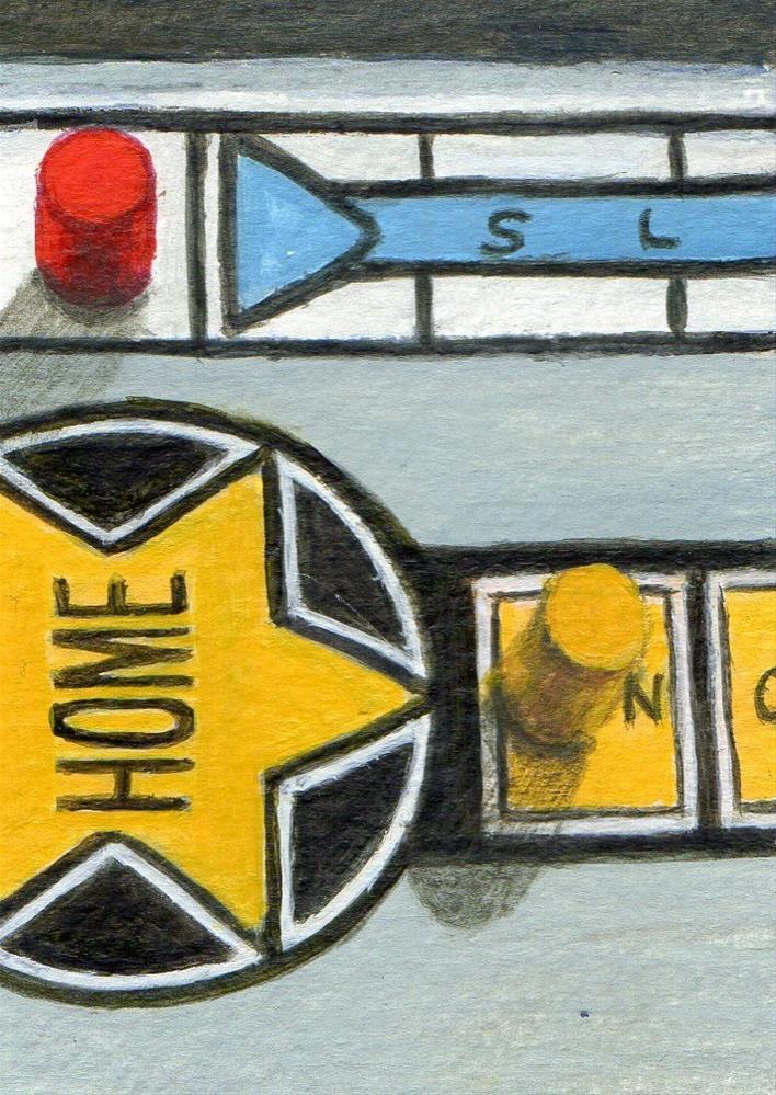 """""""Home"""" original fine art by Debbie Shirley"""