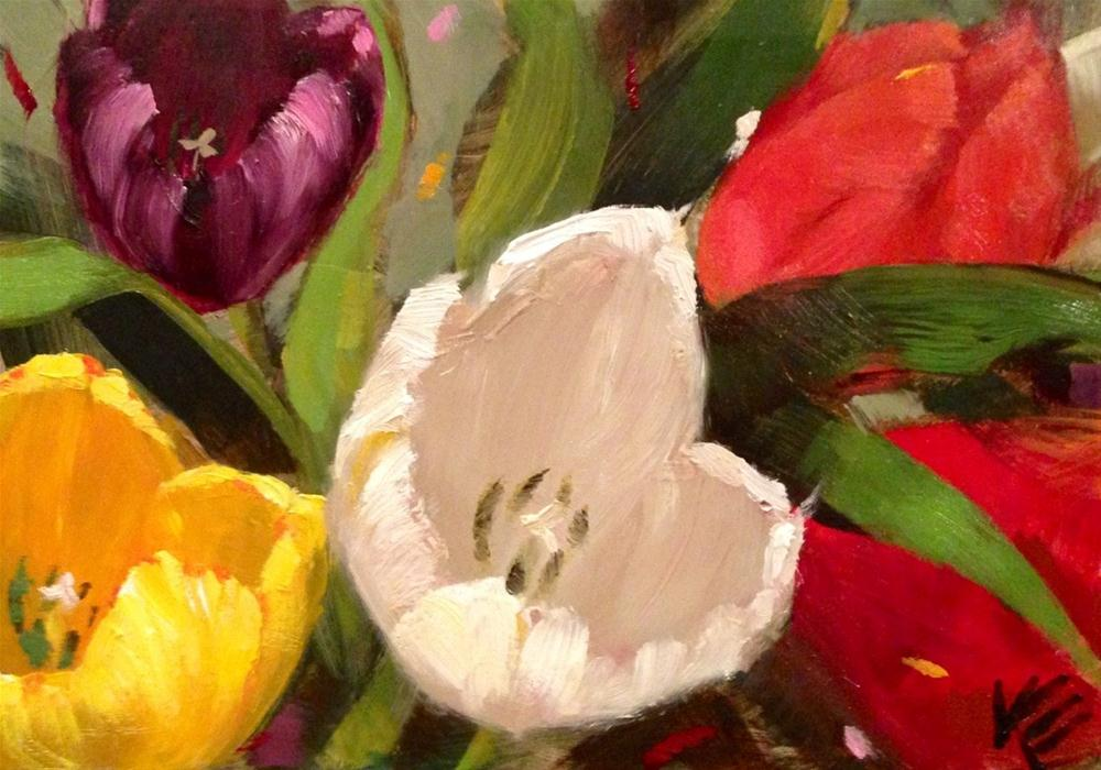 """""""Expressions of Spring"""" original fine art by Krista Eaton"""