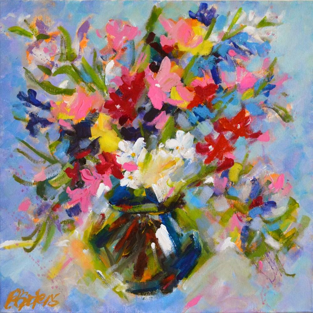 """Andy's Bouquet II"" original fine art by Pamela Gatens"