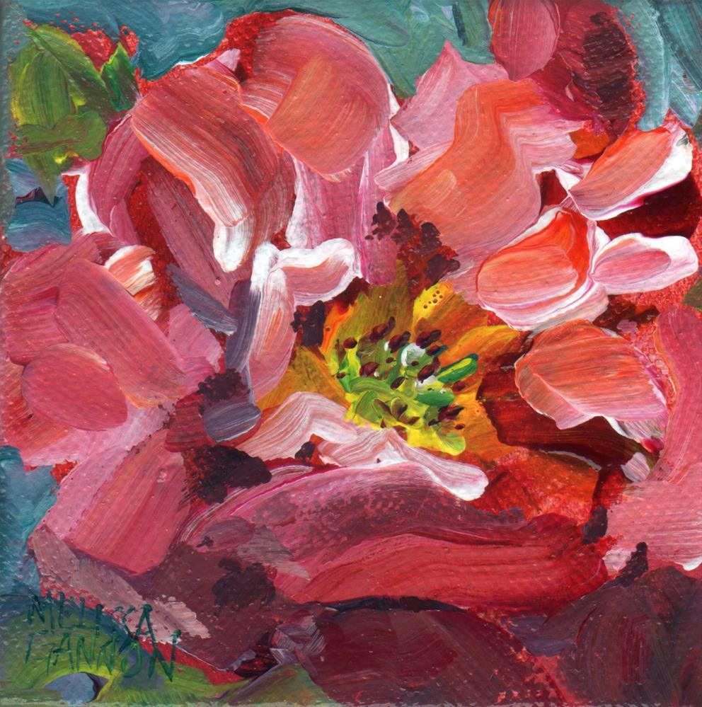 """Summer Bloom"" original fine art by Melissa Gannon"