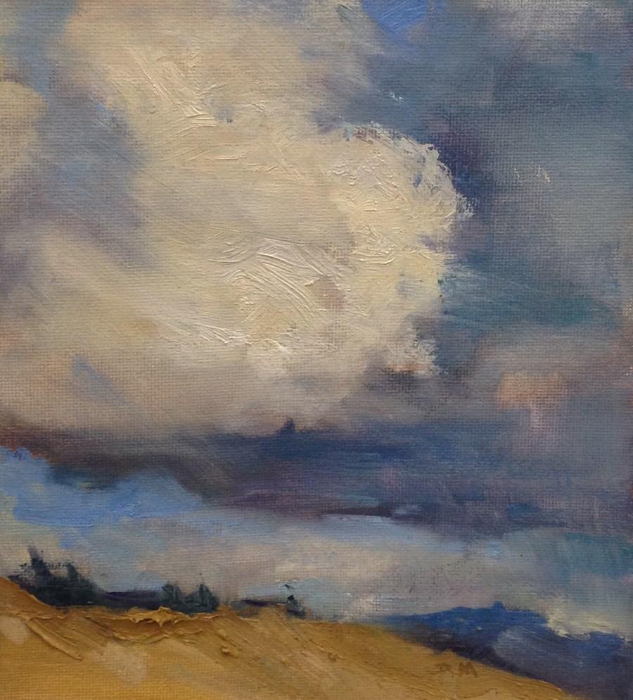 """The Sky's the Limit"" original fine art by Patti McNutt"