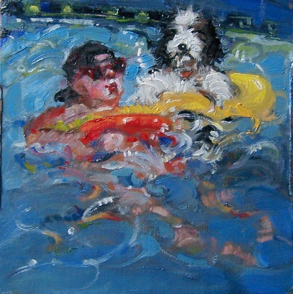 """Just Chillin'"" original fine art by Kim Roberti"