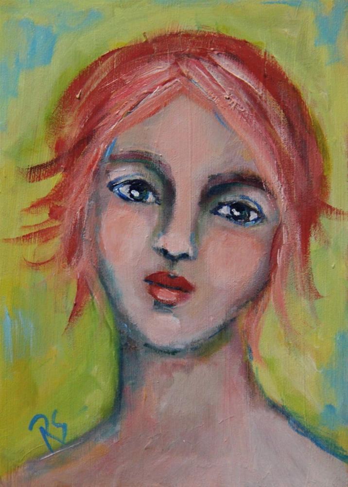 """""""Summer"""" original fine art by Roberta Schmidt ArtcyLucy"""