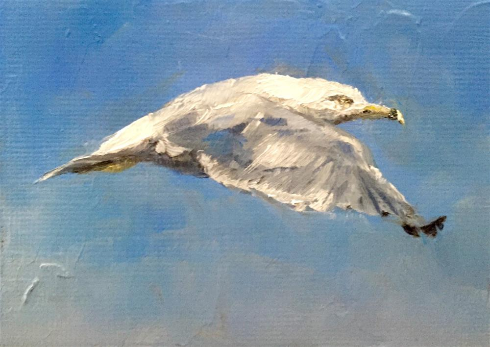 """Aloft"" original fine art by Gary Bruton"