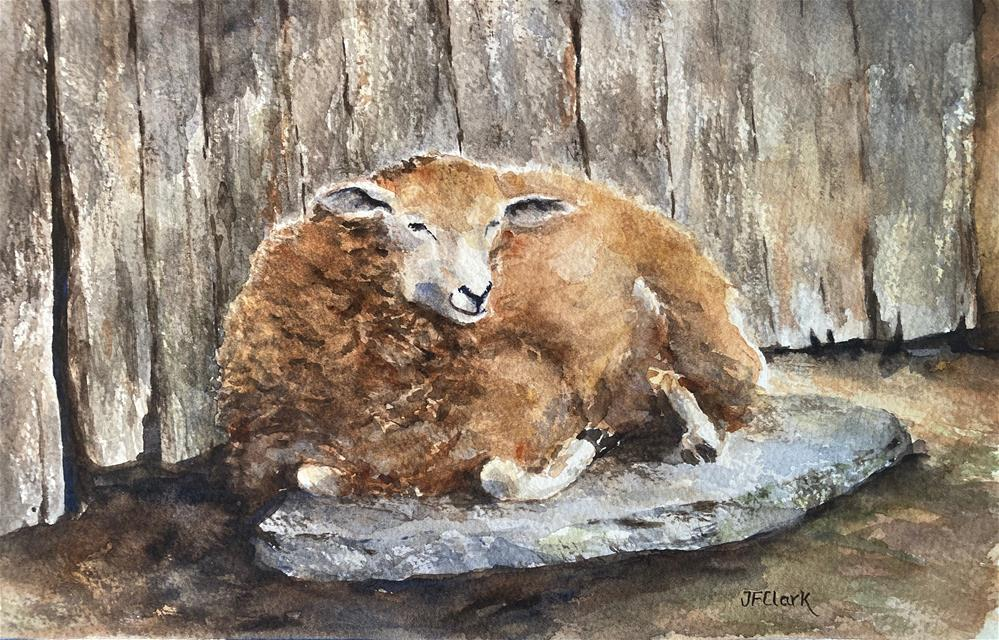 """At Rest"" original fine art by Judith Freeman Clark"