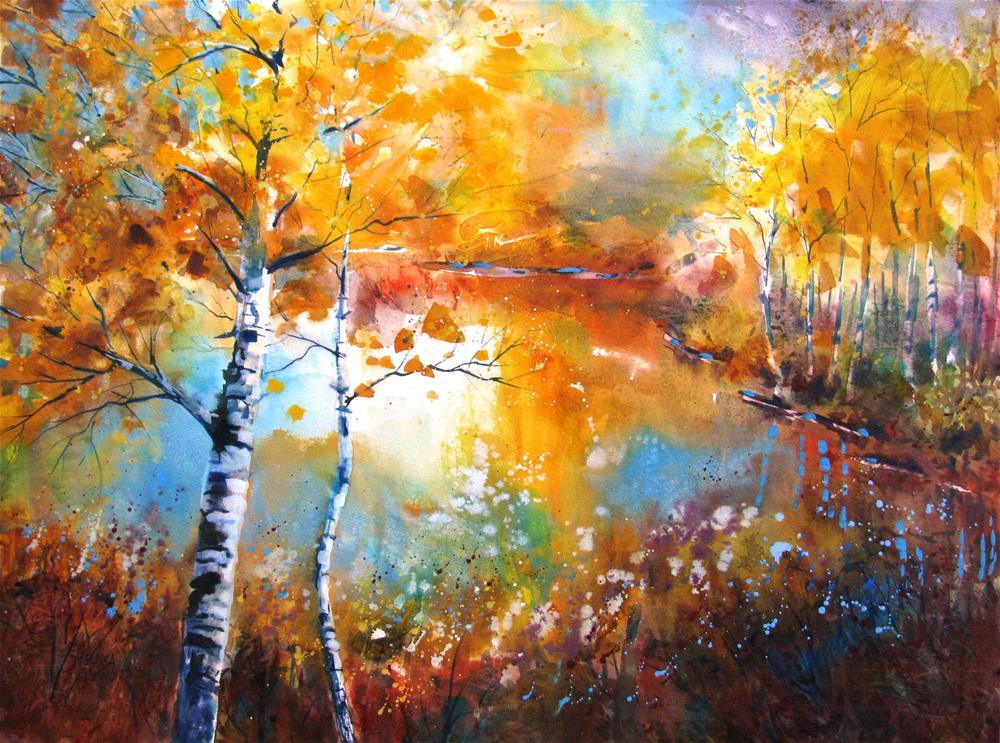 """Dynamic Change"" original fine art by Melissa Gannon"