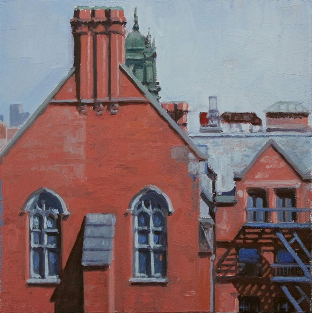 """""""View From the Highline"""" original fine art by Ski Holm"""