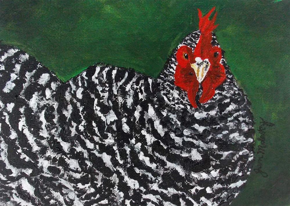 """""""Tuckaway Wanna Be II"""" original fine art by Jan Molesky"""