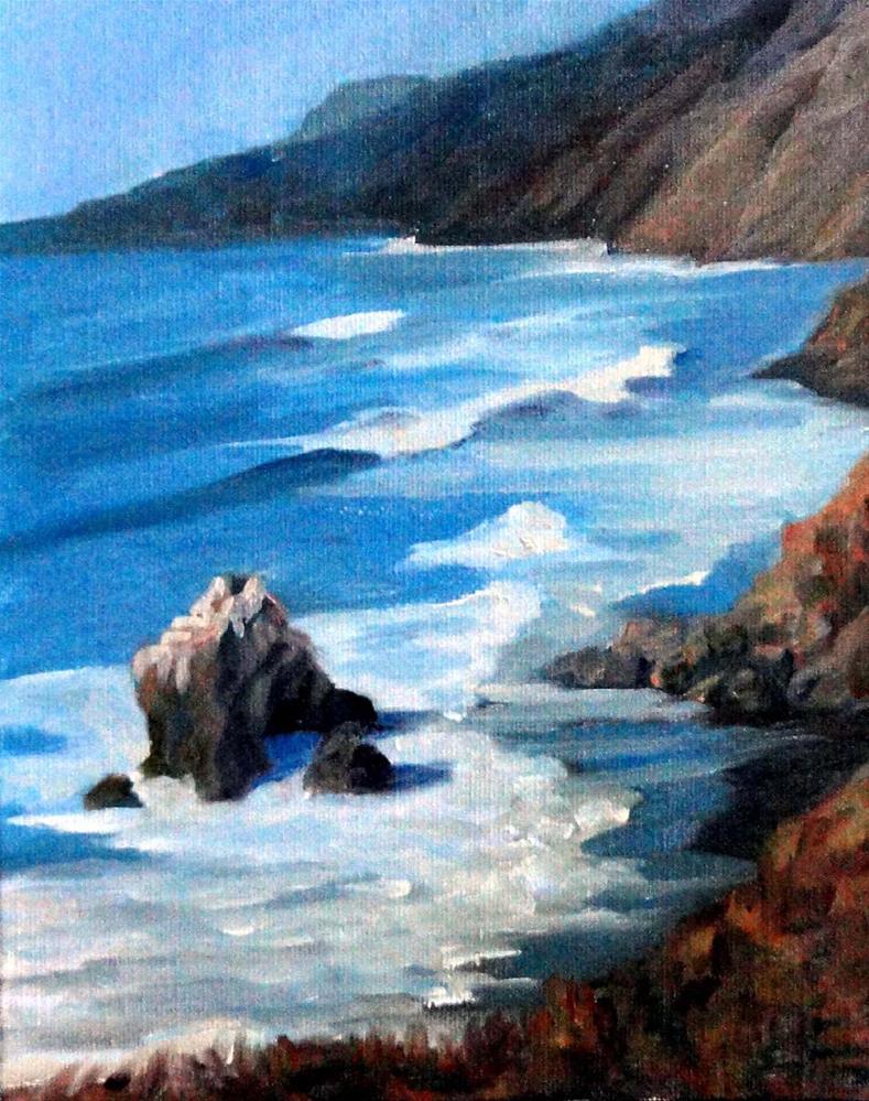 """""""Needle Rock, Sinkyone Wilderness"""" original fine art by Cietha Wilson"""