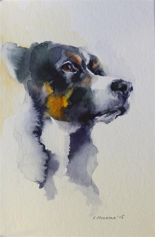 """adopt130"" original fine art by Katya Minkina"