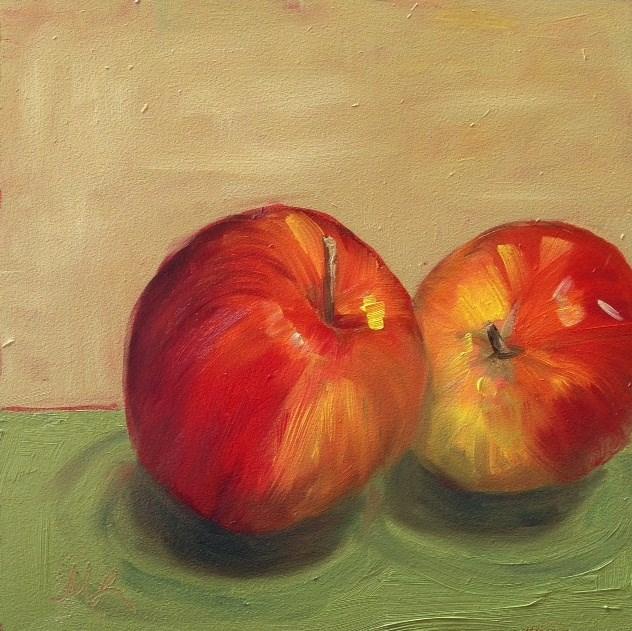 """Sweet Tango"" original fine art by Marjie Laizure"