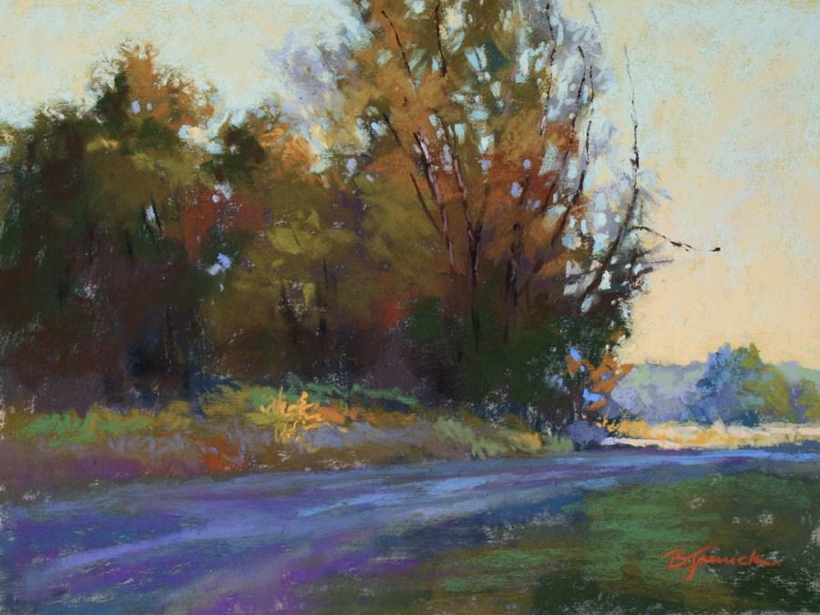 """The Light Beyond"" original fine art by Barbara Jaenicke"