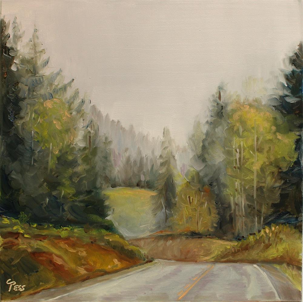 """On The Road Again- Canned Heat"" original fine art by Tess Lehman"