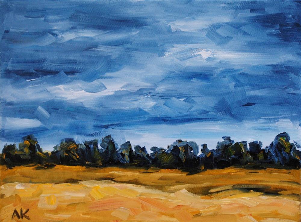 """The Empty Lot"" original fine art by Alison Kolkebeck"