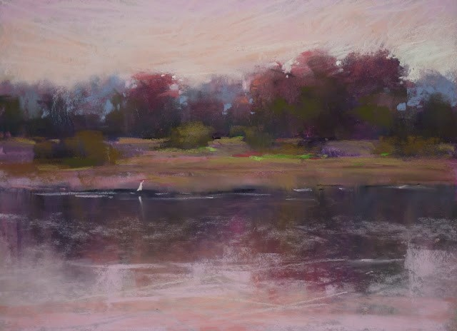 """""""How to Create a Mood with Pastels"""" original fine art by Karen Margulis"""