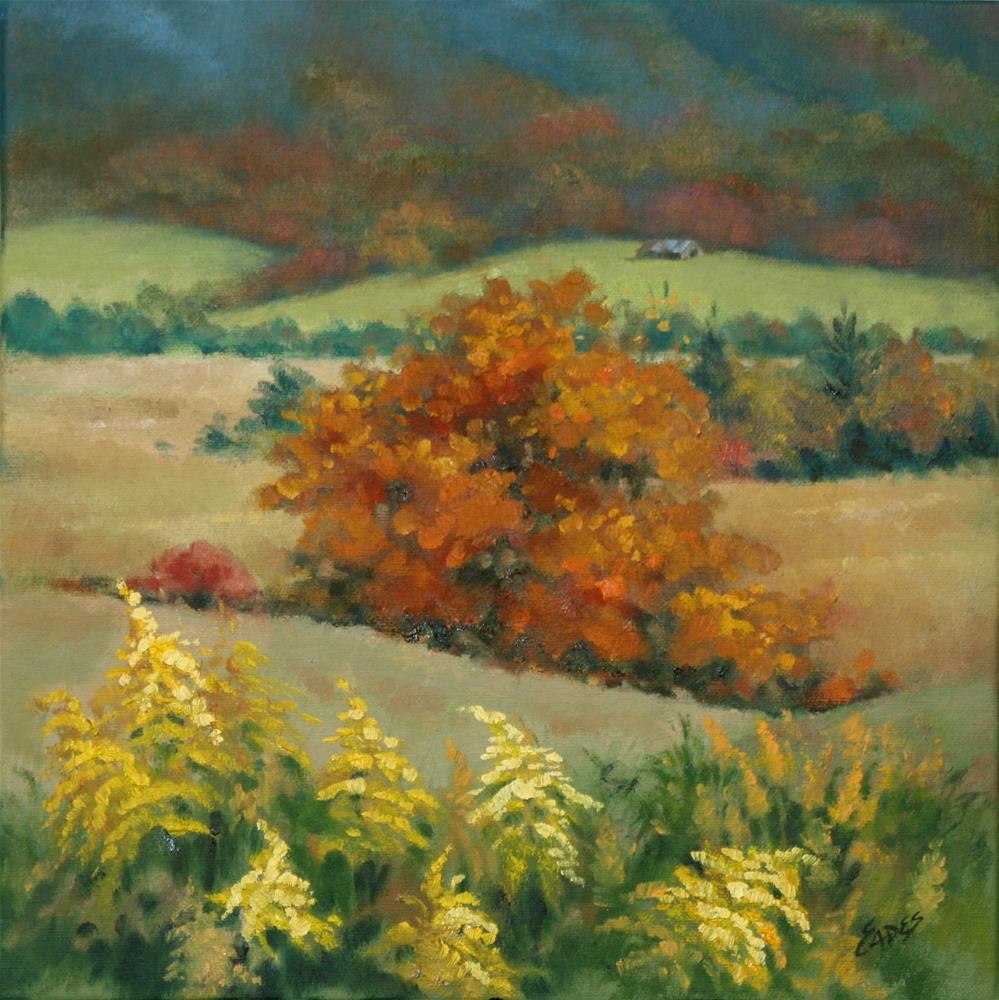 """Mountain Glory"" original fine art by Linda Eades Blackburn"