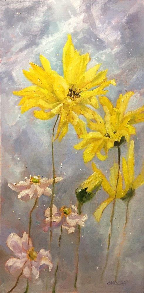 """""""Joy"""" original fine art by Carolynn Doan"""