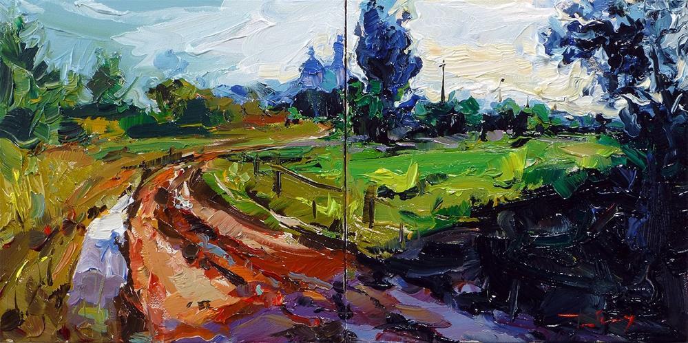 """after the rain"" original fine art by Jurij Frey"