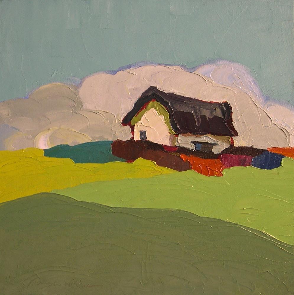 """Rolling Sky"" original fine art by Donna Walker"