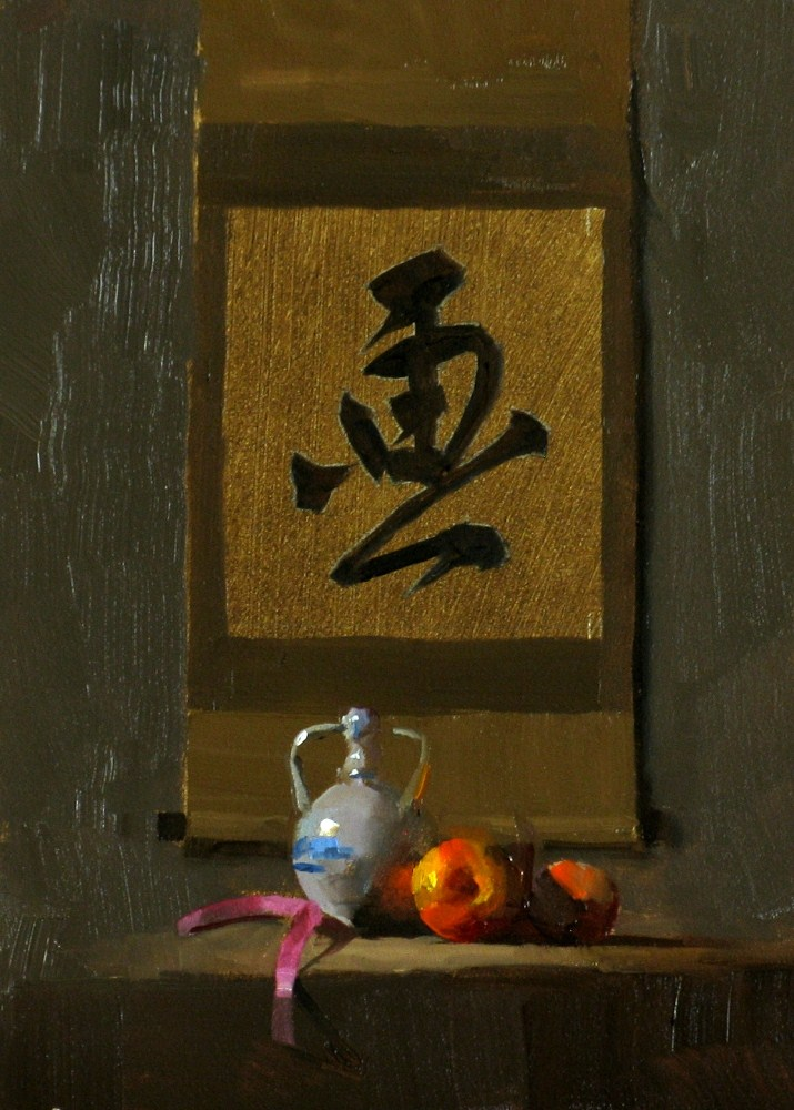 """""""""""Pictorial Presentation"""" original fine art by Qiang Huang"""