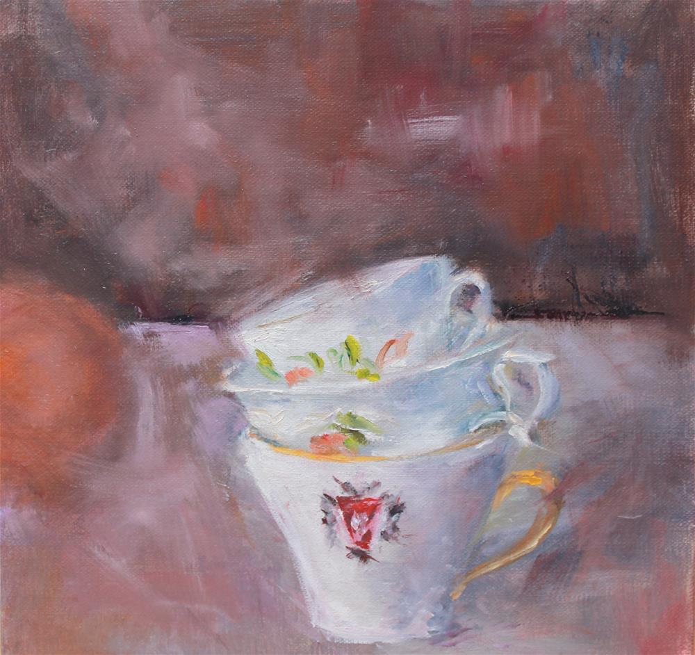 """One, Two, Three"" original fine art by Karen Solorzano"